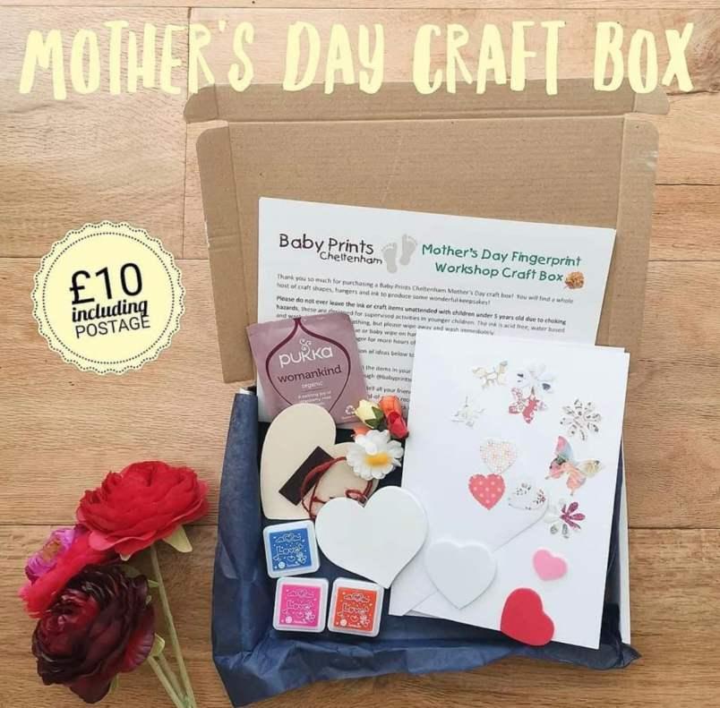 Baby Prints Cheltenham Craft Boxes