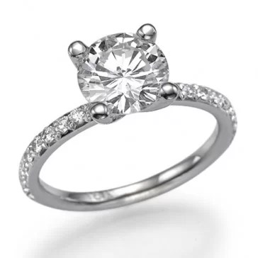 Ballerina Affordable engagement rings