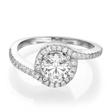 Cascade Affordable engagement rings