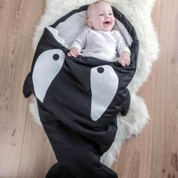 Baby Cartoon Shark Sleeping Bag