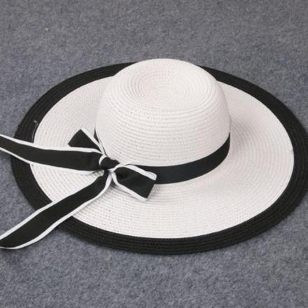 Elegant Baby Sun Hat with Bow