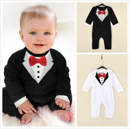 Gentleman Baby Jumpsuit