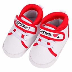 I Love Papa & Mama Sneakers
