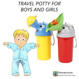 Portable Travel Potty - Emergency Toilet for Camping & Car Travel