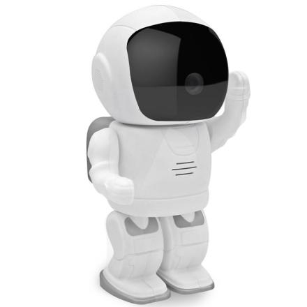 White Robot Baby Monitor