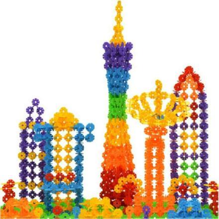 Snowflake Building Blocks - 100 Piece Set