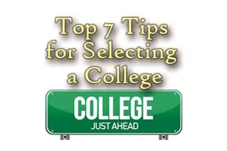 Top Seven Tips for Selecting a College