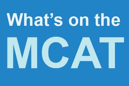 What's on the MCAT?