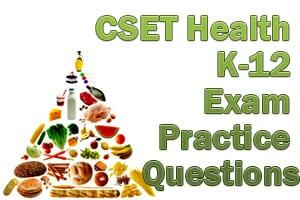 CSET Health Science Exam Practice Questions