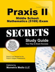 Praxis II Middle School Mathematics (5169) Exam Practice Questions study guide