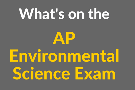 What's on the AP Environmental Science Exam