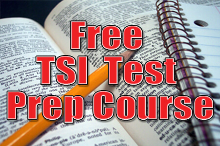 Free TSI Test Prep Course