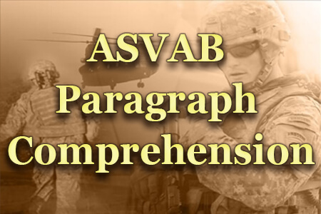 ASVAB Paragraph Comprehension