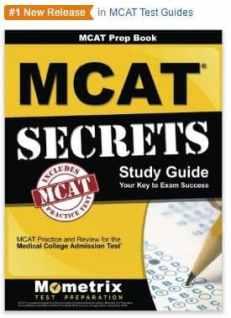 New MCAT Secrets Book