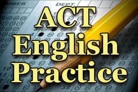 ACT English Practice
