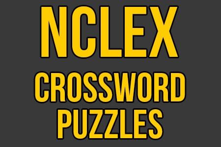 NCLEX Crossword Puzzles