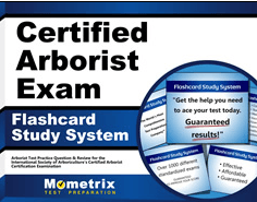 Certified Arborist Exam Flashcards Study System