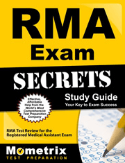 RMA Exam Secrets Study Guide