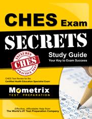 CHES Exam Secrets Study Guide