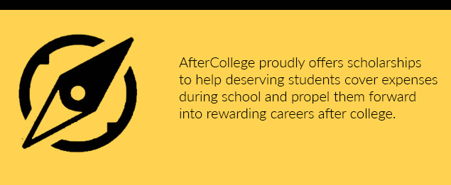 AfterCollege and AACN Scholarship Fund