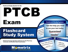 Flashcards Study System for the PTCB Exam