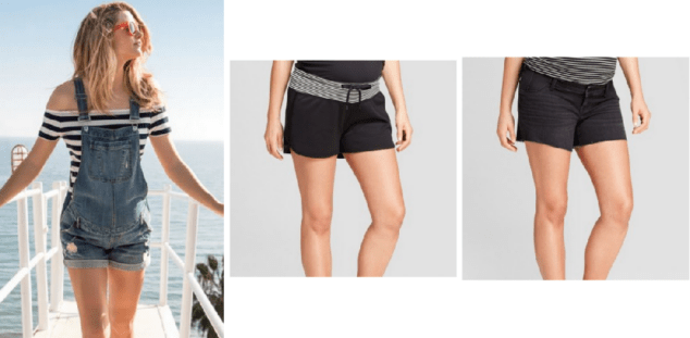 Best Maternity Shorts for the Summer