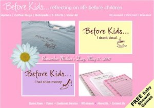 Mother's Day Giveaway – Before Kids Tee and Notepad
