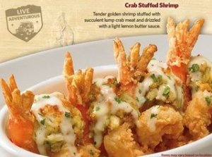 Outback New Menu Giveaway & Crab Stuffed Shrimp Recipe