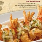 Outback New Menu Giveaway & Crab Stuffed Shrimp Recipe
