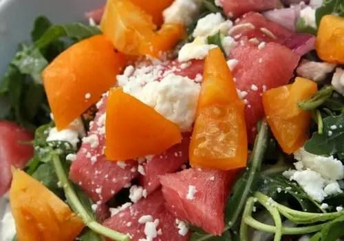 watermelon feta salad recipe