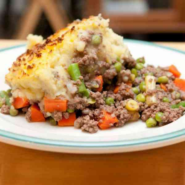 how to make an easy savory shepherd's pie