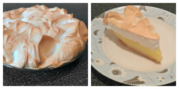 Lemon Meringue Pie Recipe Promise - this simple recipe is my family's new favorite lemon meringue pie - with less sugar, butter and eggs than before