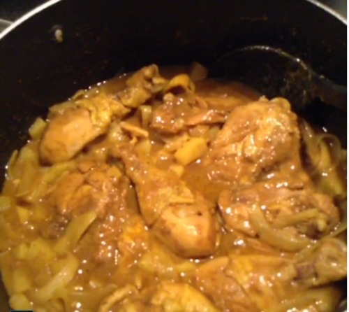 Easy jamaican curried chicken recipe mom in the city easy jamaican curried chicken recipe 4 ingredients forumfinder
