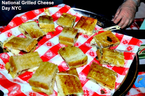 national grilled cheese day nyc -best places in NYC to get great grilled cheese