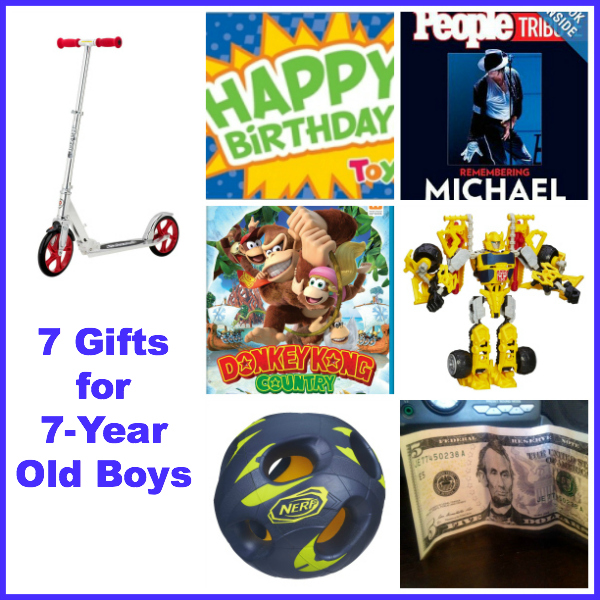 7 Gift Ideas For Year Old Boys