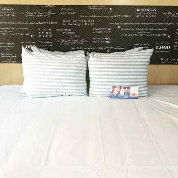 bed at TRYP Times Square