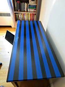 Duct Tape Desk Makeover