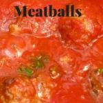 3 Meat, 3 Cheese Meatballs <br> (Easy Baked Meatballs Recipe)