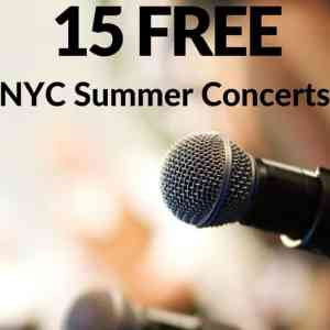 15 Best Free Concerts in NYC in the Summer