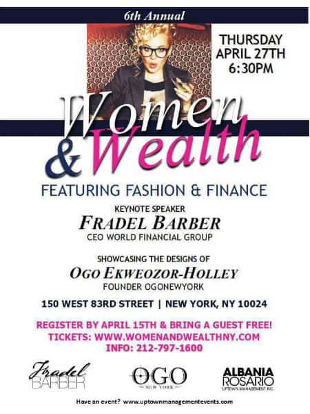 women and wealth NY