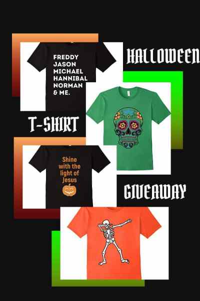 Halloween T-Shirt Giveaway