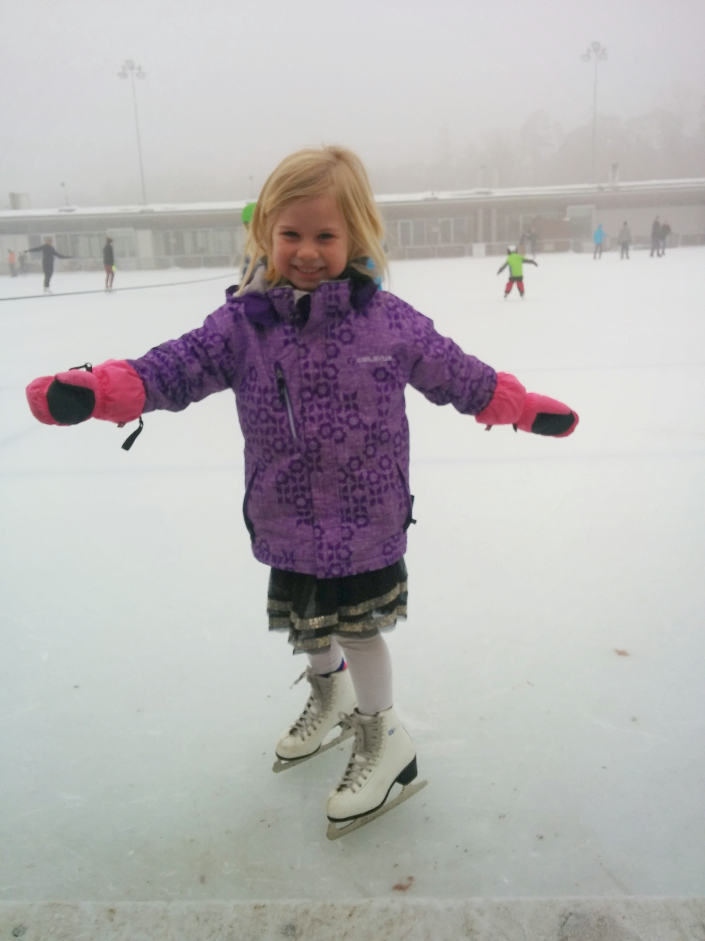 Ice Skating at Dolder