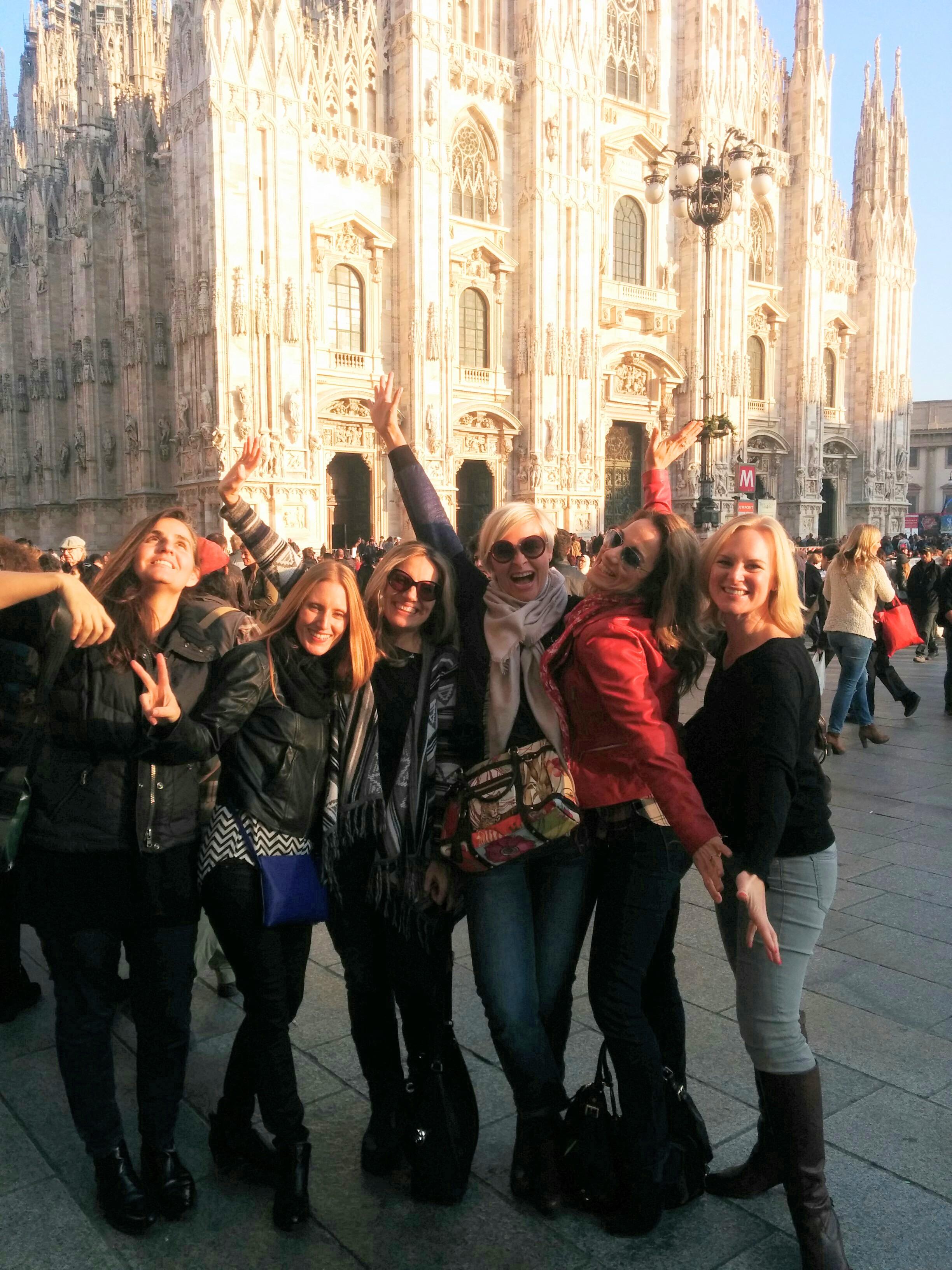 Girl's weekend in Milan