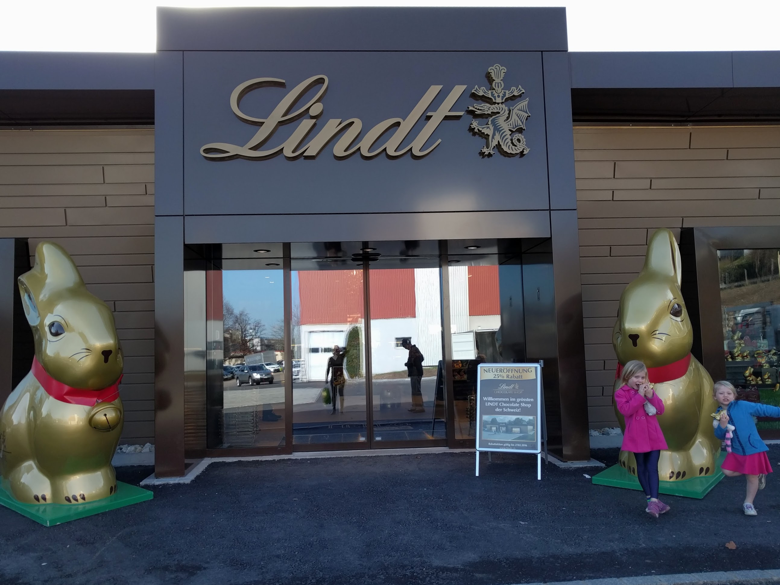 The new Lindt Chocolate shop
