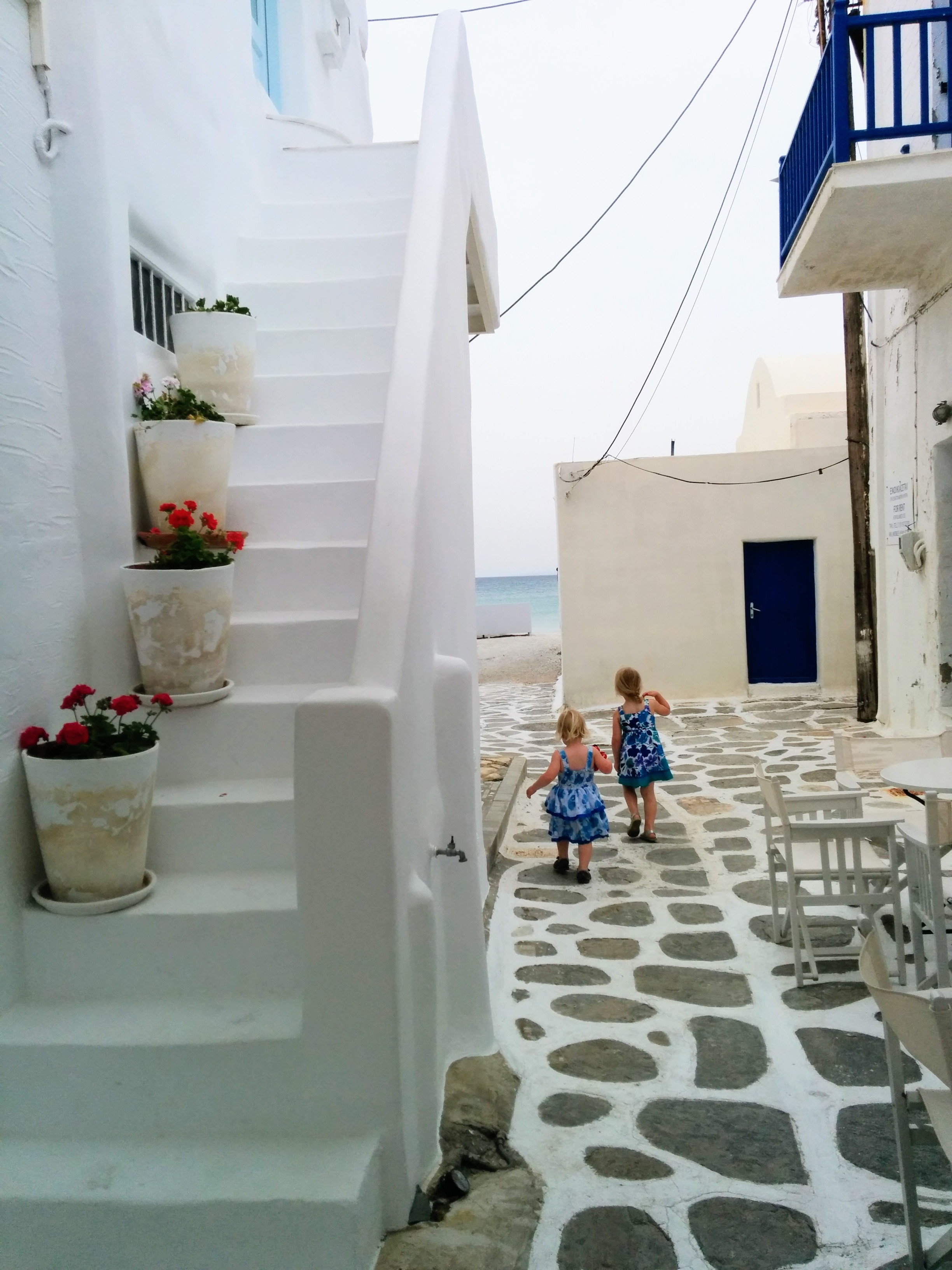 One relaxing week in Paros, Greece