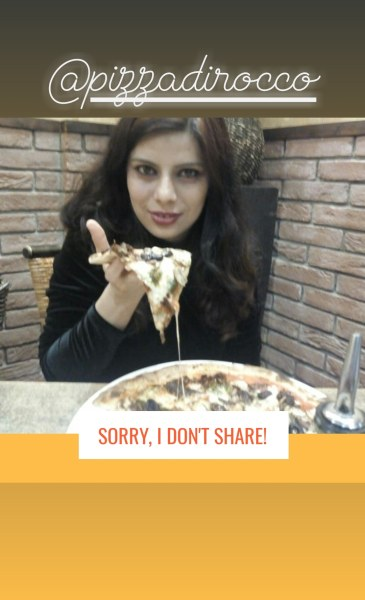 Pizza is yummy and healthy at pizza di rocco