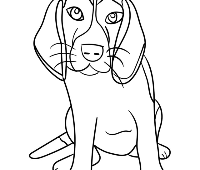 Top  Free Printable Dog Coloring Pages Online