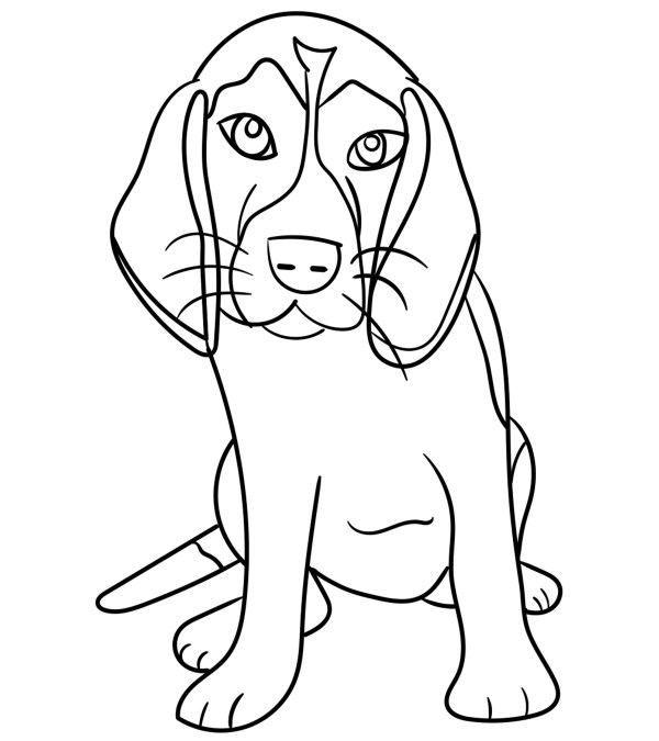 beagle coloring pages # 1