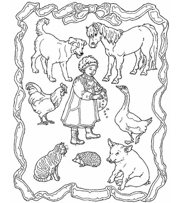 jan brett coloring pages # 0