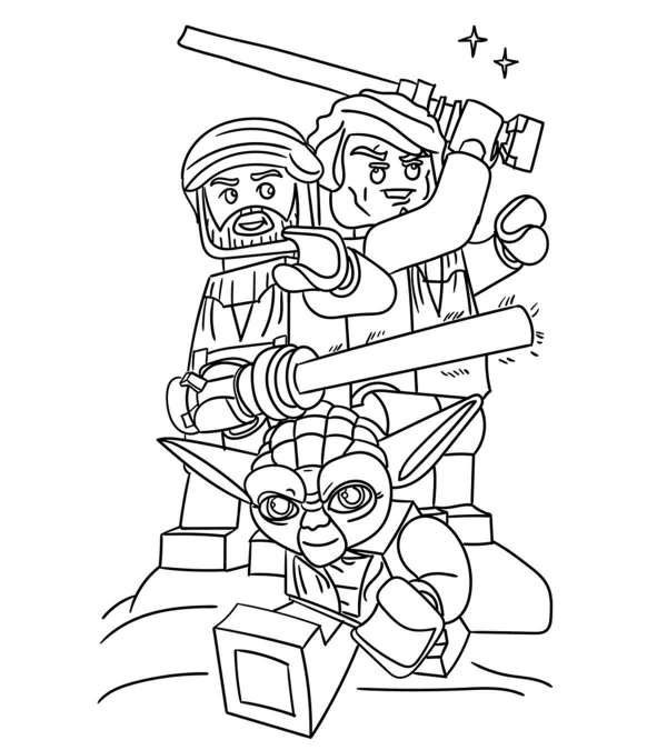 coloring pages lego # 8